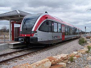 """MetroRail train """"Speedy Shopper"""""""